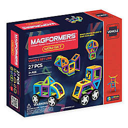 Magformers® 27-Piece Magnetic Construction Set