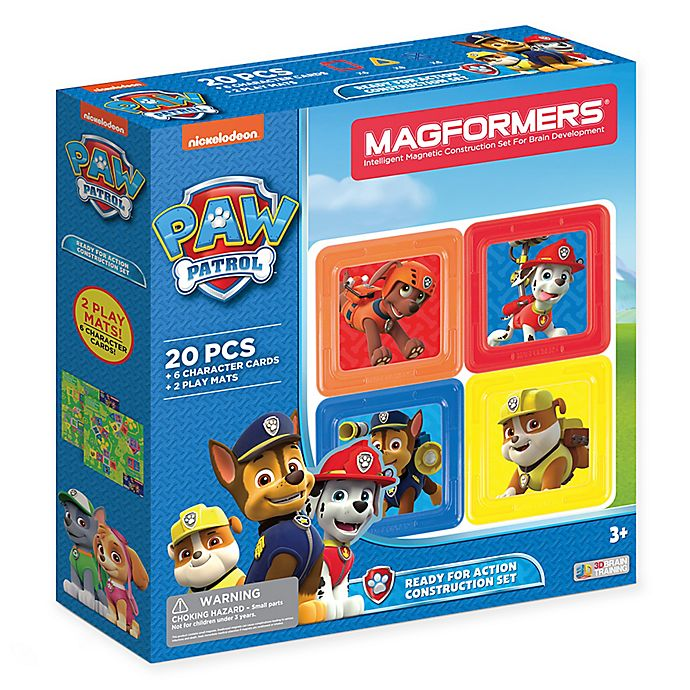 Alternate image 1 for Nickelodeon™ PAW Patrol 20-Piece Ready For Action Construction Set