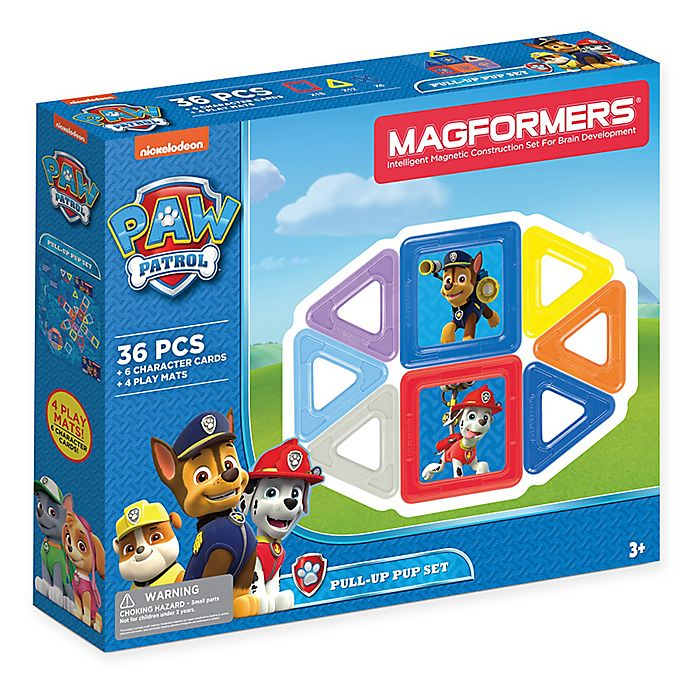 Alternate image 1 for Nickelodeon™ PAW Patrol 36-Piece Pull Up Pup Set