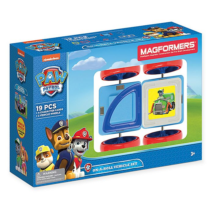 Alternate image 1 for Nickelodeon™ PAW Patrol 25-Piece On a Roll Vehicle Set