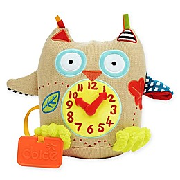 Dolce My First Owl Clock Plush Toy