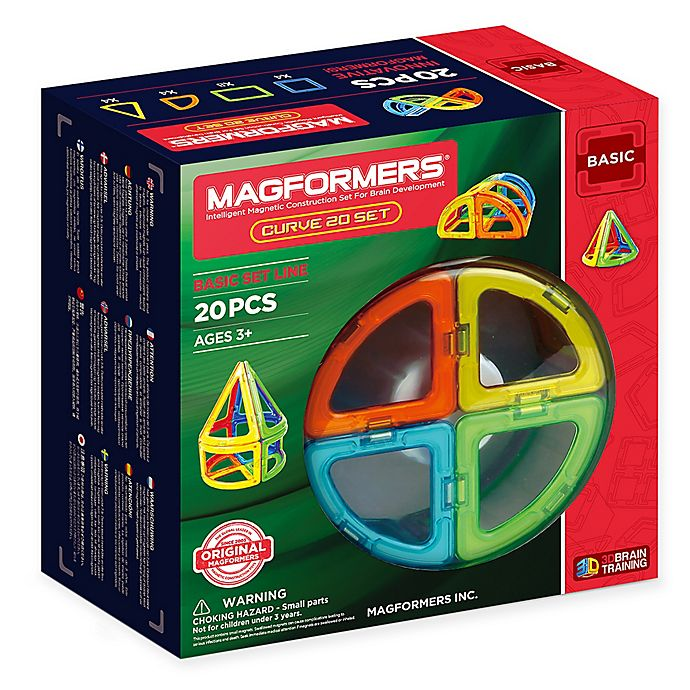 Alternate image 1 for Magformers® 20-Piece Building Playset