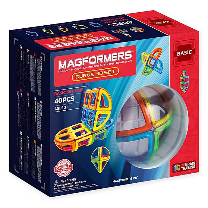 Alternate image 1 for Magformers® 40-Piece Building Playset