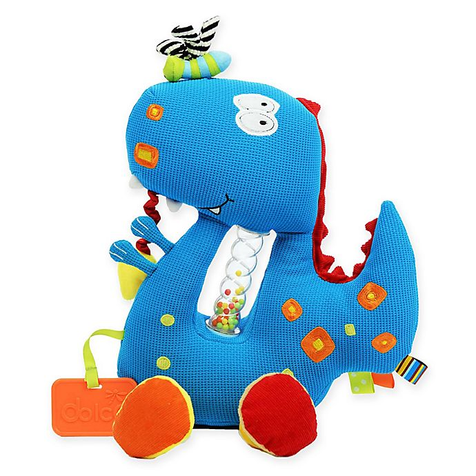 Alternate image 1 for Dolce Dino Plush Toy in Blue