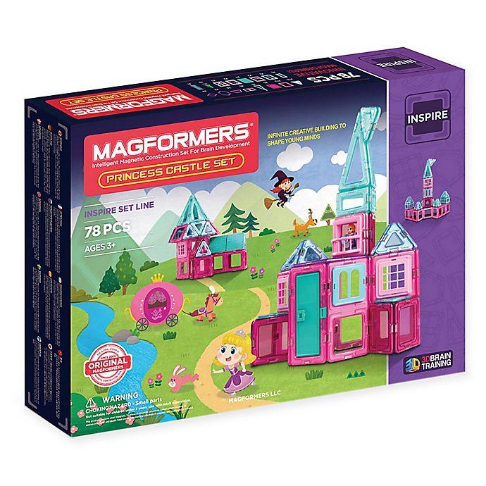 Alternate image 1 for Magformers® 78-Piece Princess Castle Set