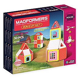 Magformers® 50-Piece Build-Up House Set