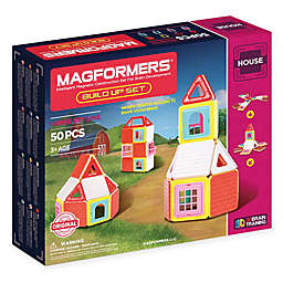 Magformers® 50-Piece Build-Up House Set