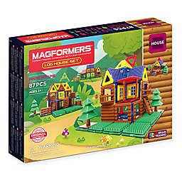 Magformers® 87-Piece Log House Playset