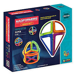 Magformers® Unique 30-Piece Magnetic Set