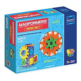 Magformers® 32-Piece Magnets in Motion Gear Set