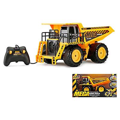 New Bright Mega Dump Truck in Yellow