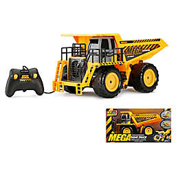 New Bright Mega Dump Truck in Yellow