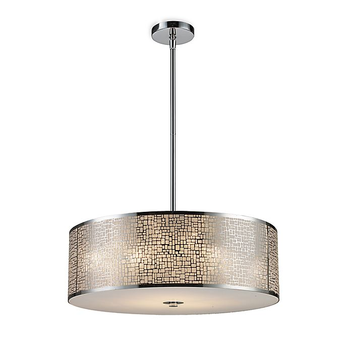 Elk Lighting Medina: ELK Lighting Med In A 5-Light Pendant Ceiling Lamp In