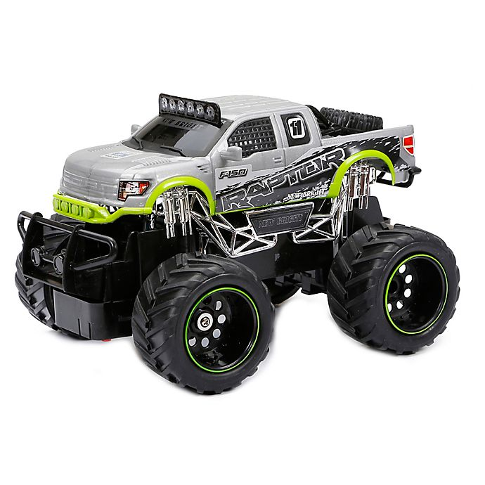 Alternate image 1 for New Bright 1:24 FF Ford Raptor Remote Control Truck in Silver