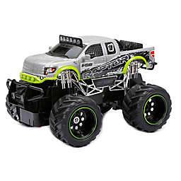 New Bright 1:24 FF Ford Raptor Remote Control Truck in Silver