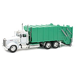 New-Ray Kenworth W900 Garbage Truck in Green