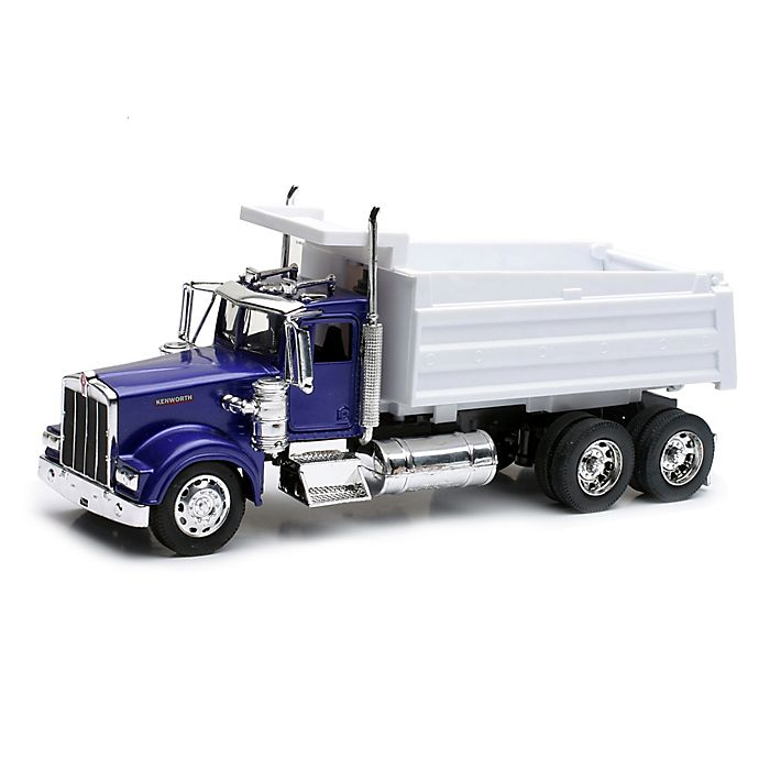Alternate image 1 for New-Ray Kenworth W900 Toy Dump Truck in Blue