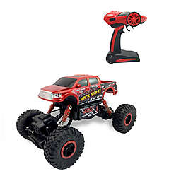 Grandex 2.4 GHz Toyota Tundra Rock Beast Crawling Truck in Red