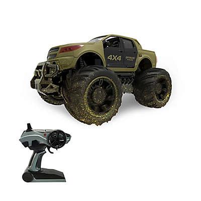 Grandex Dirt-Ripper Mega Remote-Control Truck in Green