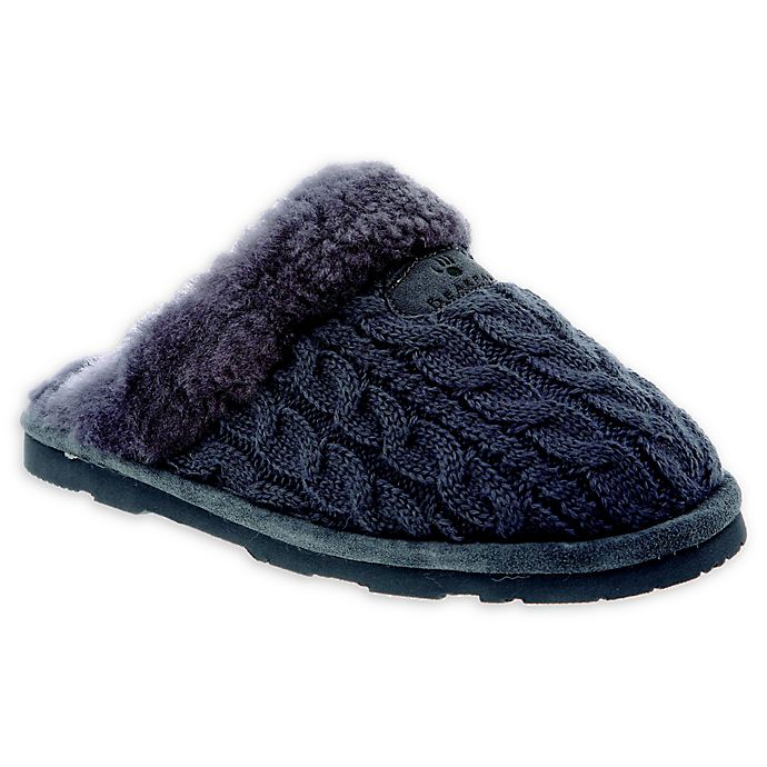 Alternate image 1 for Bearpaw Effie Women's Cable Knit Slippers