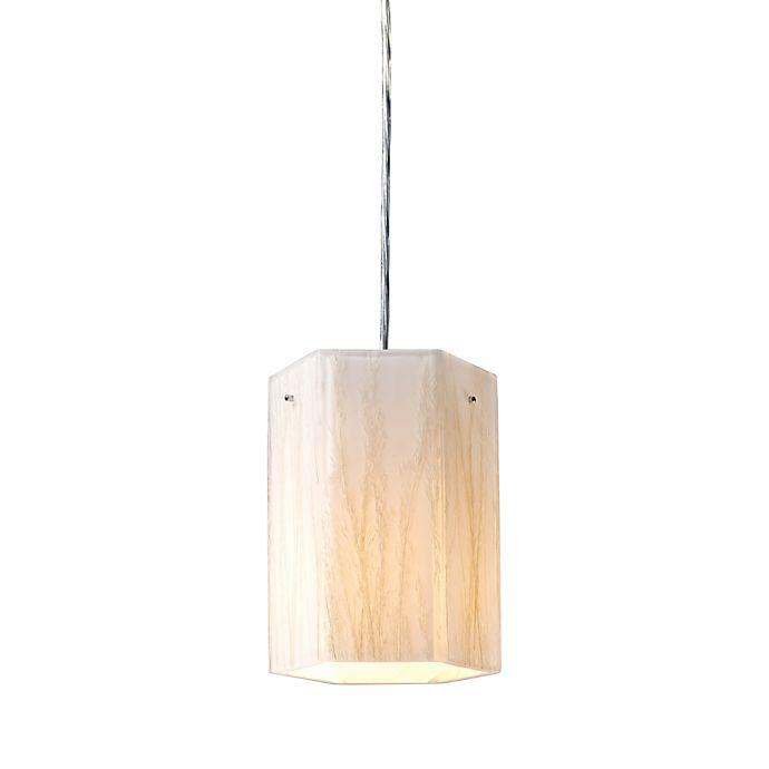 Alternate image 1 for ELK Lighting Modern Organics 1-Light Pendant in White