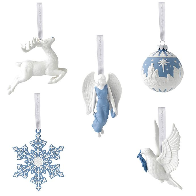 Wedgwood® 2018 Christmas Ornament Collection