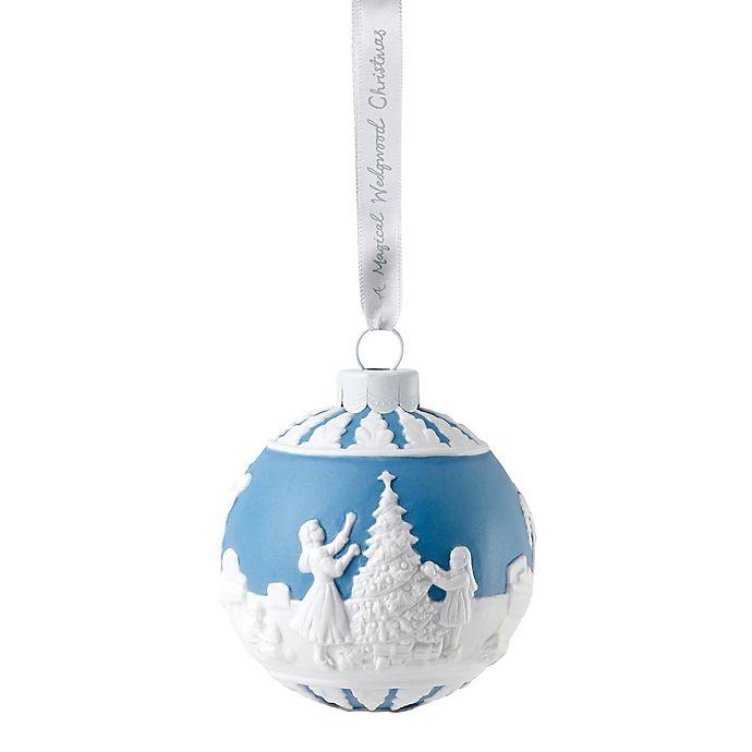 Wedgwood Christmas Ornaments.Wedgwood 2018 Dressing The Tree Christmas Ornament