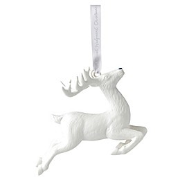 Wedgwood® 2018 Figural Reindeer Christmas Ornament