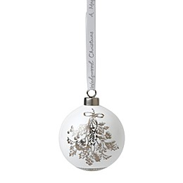 Wedgwood® 2018 Holly Ball Christmas Ornament