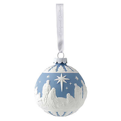 Wedgwood® 2018 Nativity Christmas Ornament