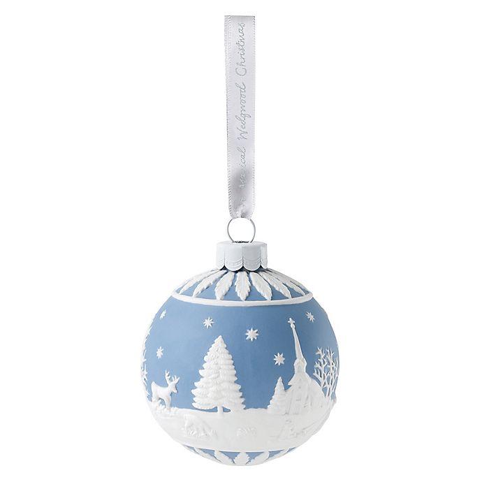 Alternate image 1 for Wedgwood® 2018 Winter Scene Christmas Ornament