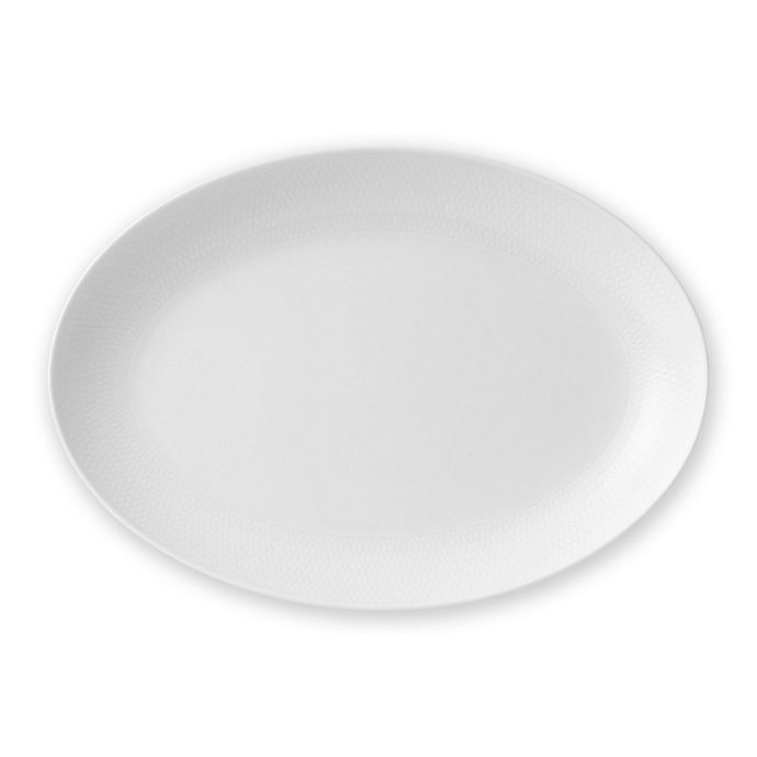 Alternate image 1 for Wedgwood® Gio 11.8-Inch Oval Platter