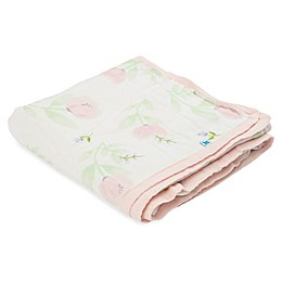 Little Unicorn Pink Peony Deluxe Muslin Quilt