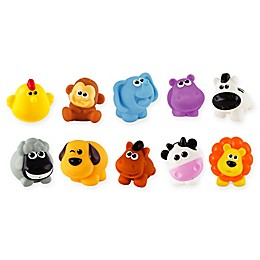 Winfun 10-Piece My Animals Bath Play Set