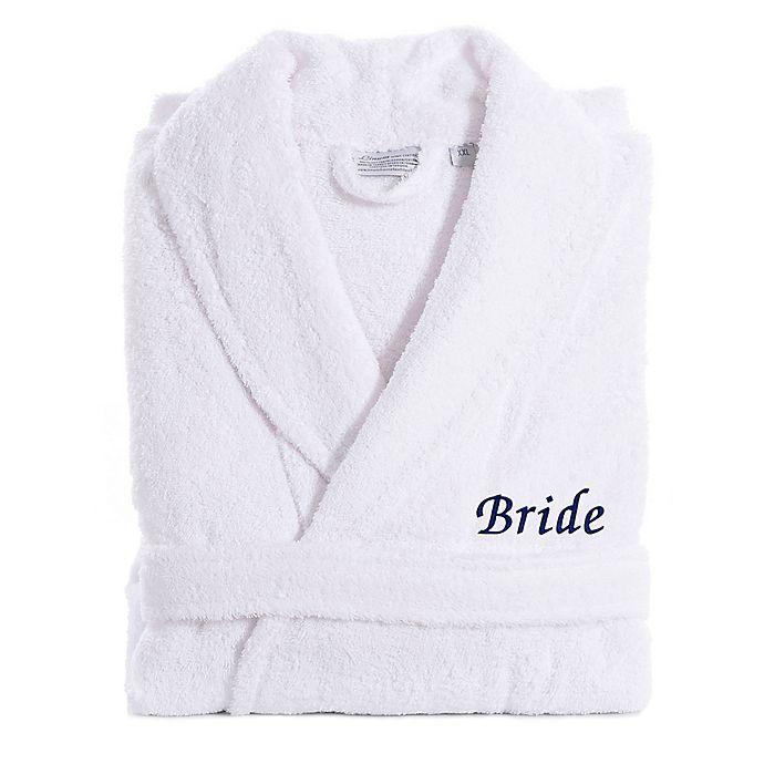 Alternate image 1 for Linum Home Textiles Bride Bathrobe