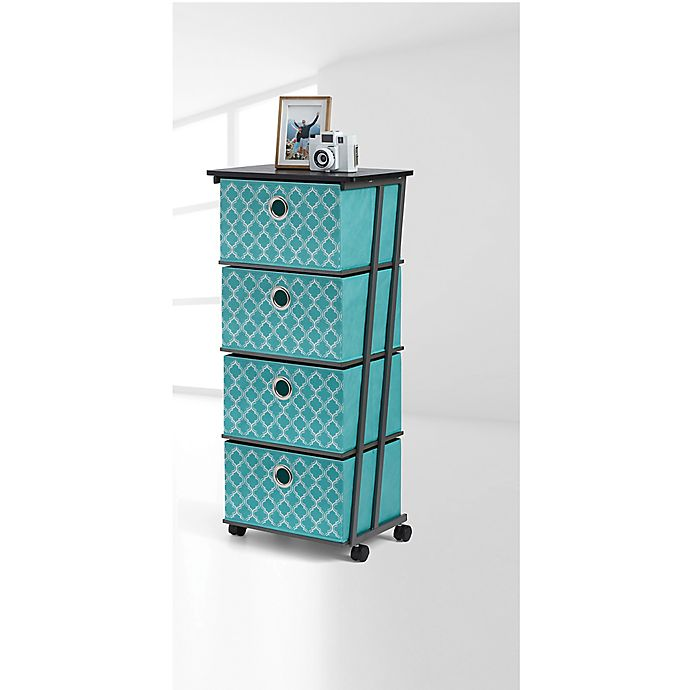 Alternate image 1 for Studio 3B™ 4-Drawer Storage Cart