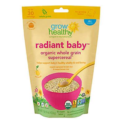Grow Healthy Radiant Baby™ 16 oz. Organic Whole Grain Supercereal™