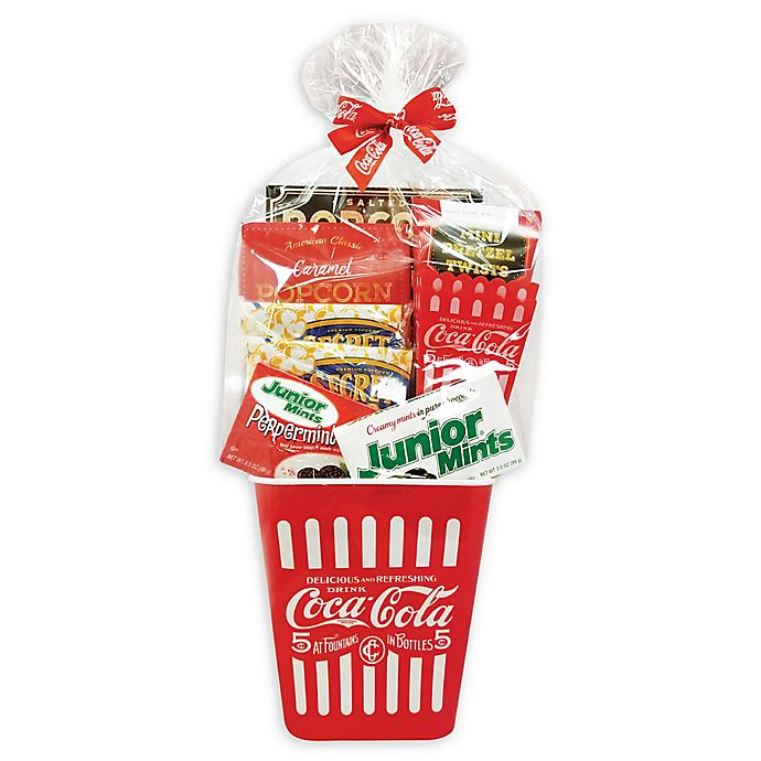 Alternate image 1 for Coca-Cola® 10-Piece Movie Night Gift Basket