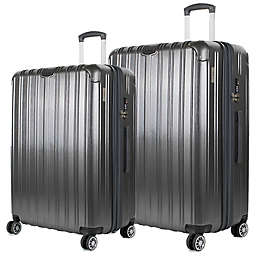 American Green Travel Melrose II Hardside Spinner Checked Luggage