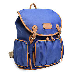 Adrienne Vitttadini Two-Tone Rugged Backpack