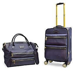 Adrienne Vittadini 2-Piece Nylon Luggage Set