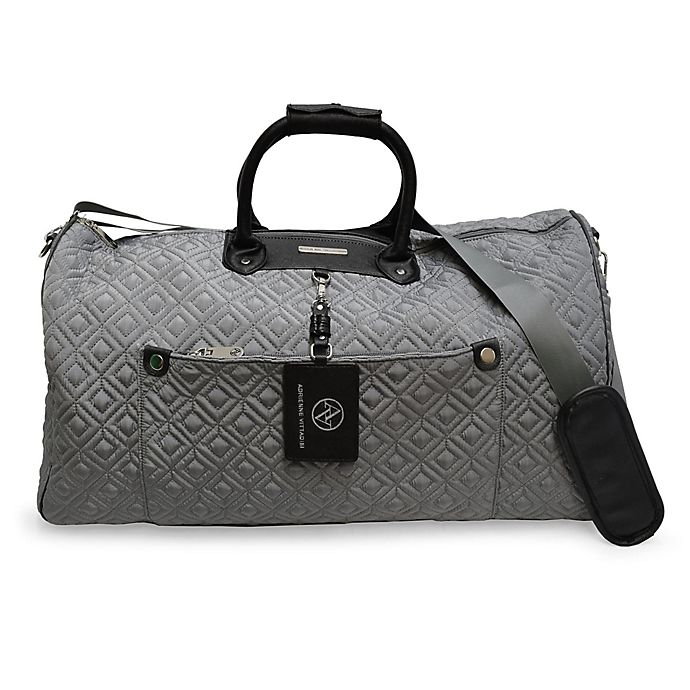 Alternate image 1 for Adrienne Vittadini Double Quilted Duffle Bag