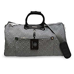 Adrienne Vittadini Double Quilted Duffle Bag