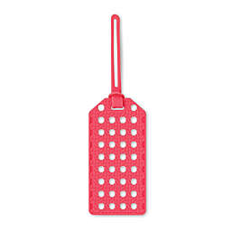 kate spade new york Coral Caning Luggage Tag