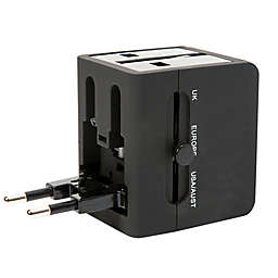 Gforce All-in-One Travel Adapter with USB Port