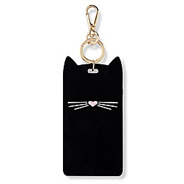 kate spade new york Cat ID Clip in Black