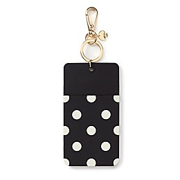 kate spade new york Polka Dot ID Clip in Black