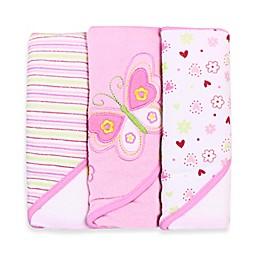 Spasilk® Hooded Towel (Pack of 3) - Butterfly
