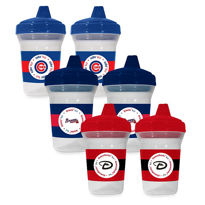 Alternate image 1 for Baby Fanatic® MLB® Sippy Cup 2-Pack