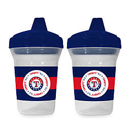 Baby Fanatic® MLB® Sippy Cup 2-Pack in Texas Rangers